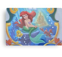 Disney Princess Ariel Little Mermaid  Metal Print