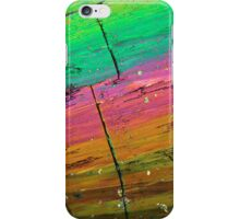 Thulium nitrate under the microscope iPhone Case/Skin
