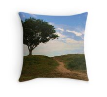 Lone soldier standing Throw Pillow