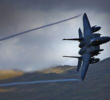 F15 at dusk by Rory Trappe