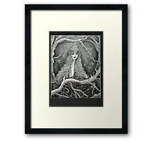 queen of the forest Framed Print