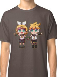 Twins Rin and Len Classic T-Shirt