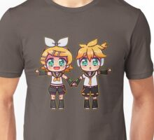Twins Rin and Len Unisex T-Shirt