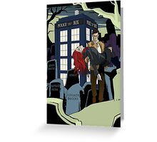 Dr.Who Greeting Card
