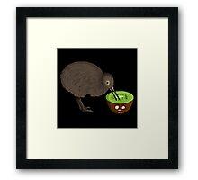 Cannibal Kiwi Framed Print