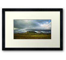 a stunning Malawi landscape Framed Print