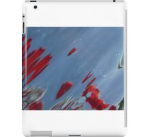 Tulips, Dorothy, Abstract Photography, Raw Image, Refraction through glass iPad Case/Skin