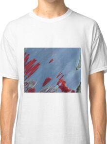 Tulips, Dorothy, Abstract Photography, Raw Image, Refraction through glass Classic T-Shirt