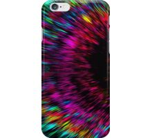 Wormhole into an oblivious universe iPhone Case/Skin