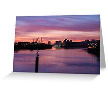 Shipyards, Glasgow  Greeting Card