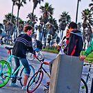 Color Bikes by Samuel Gordon