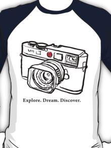 Leica M9 red dot rangefinder camera T-Shirt