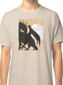 Tolkien - Smaug - Dragon against the Moon Classic T-Shirt