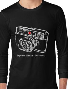 Leica M9 red dot rangefinder camera T-Shirt Long Sleeve T-Shirt