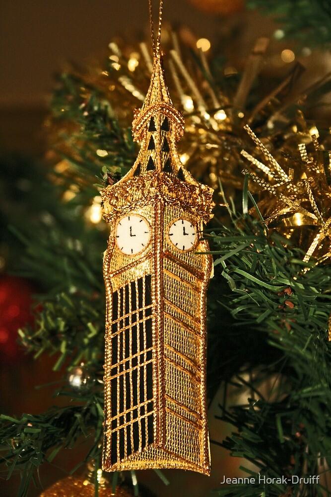Christmas - Big Ben by Jeanne Horak-Druiff
