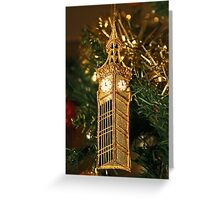 Christmas - Big Ben Greeting Card