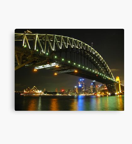 The Road to the Emerald City Canvas Print