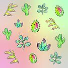 Succulents and Cacti by brettisagirl