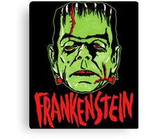 Mani-Yaks Frankenstein Canvas Print