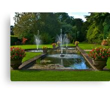 The Fountains Canvas Print