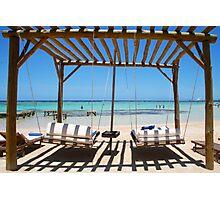 Relax at Bora Bora Photographic Print