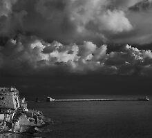 MOno -- G Harbour Entrance Valletta Malta by Edwin  Catania