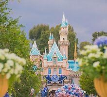 Diamond Celebration - Disneyland Castle by lauralaing