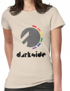 Darkside Abstraction Womens Fitted T-Shirt