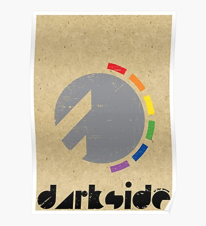 Darkside Abstraction Poster