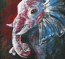 The Intelligent Elegant Elephant by AngelArtiste