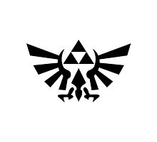 Triforce (Black by angieguzman