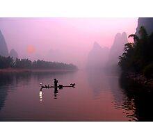 LI RIVER SUNRISE Photographic Print