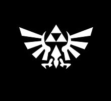 Triforce (White) by angieguzman