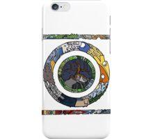 Square and Circle Mandala - COLOURED iPhone Case/Skin