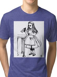 Alice don't drink that poison Tri-blend T-Shirt