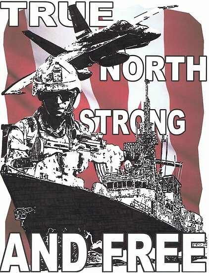 TRUE, NORTH, STRONG AND FREE by Don Ward
