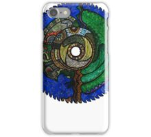 Tree Saw Blade (saw blade #3) iPhone Case/Skin
