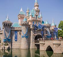 Sleeping Beauty's Castle - Disneyland 60th Anniversary by lauralaing