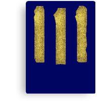 Vault-Teck 111 Shirt large symbol Canvas Print