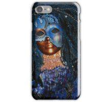 Blue veil of Night iPhone Case/Skin