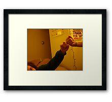 Fists Framed Print