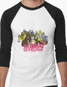 big lez show Men's Baseball ¾ T-Shirt