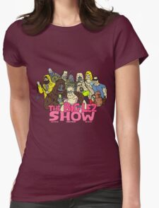 big lez show Womens Fitted T-Shirt