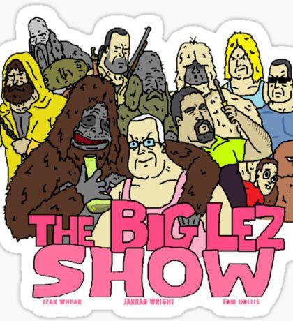 big lez show Sticker