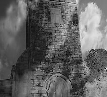 Tower of clouds, Tankersley, Barnsley, South Yorkshire. by Andy Smith