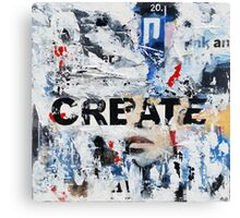Create Canvas Print