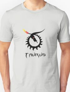 Skeleton Taurus Zodiac T-Shirt