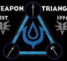 Weapons Triangle  by benjielwarro