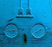 blue gauge by Catherine Hadler