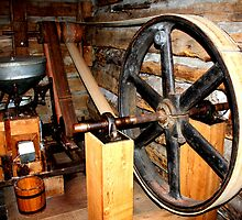 Moline, Texas Griss Mill  by Charles Buchanan